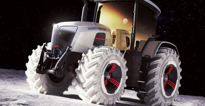 Massey Ferguson Next - futurystyczna koncepcja producenta