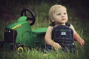 Zabawki dla najmłodszych fanów rolnictwa